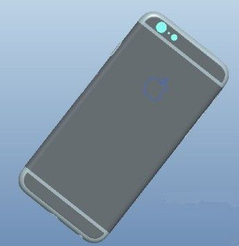 iPhone 6 CAD photo