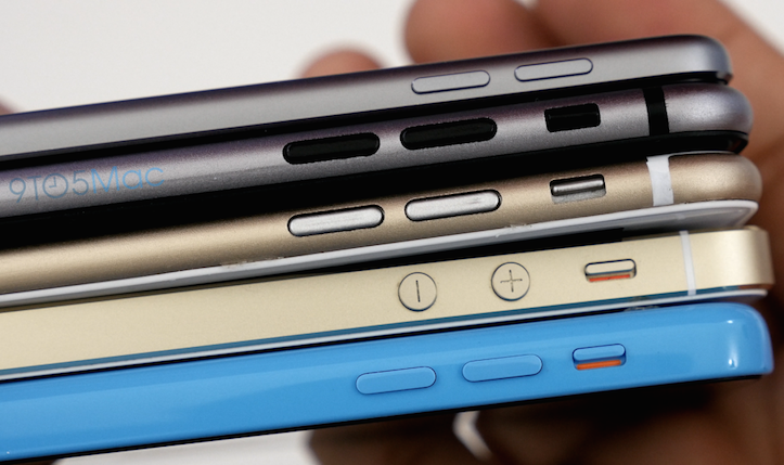 iPhone 6 mockup comparison