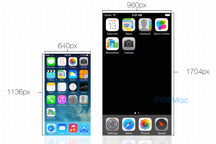iPhone 6 display home screen