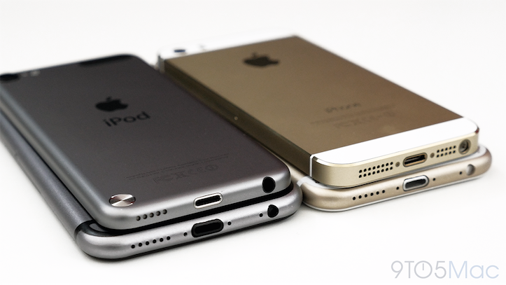 iPhone 6 gold model