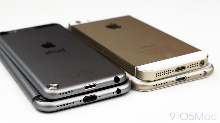 iPhone 6 gold model