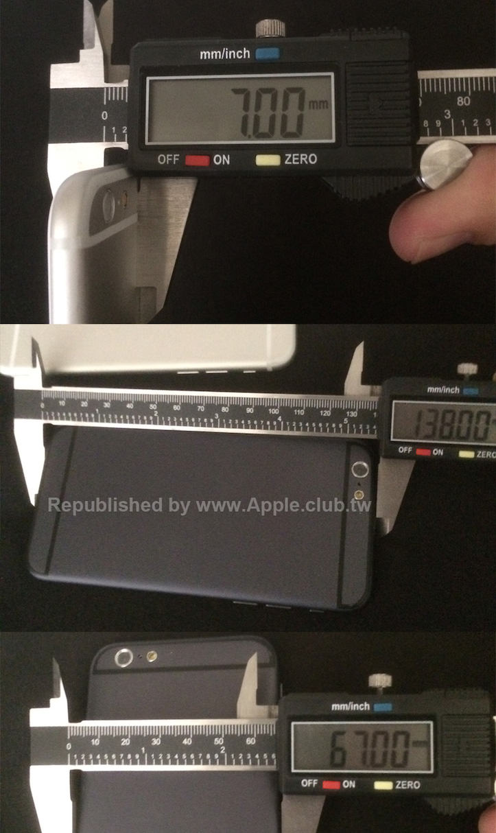 Iphone6 thickness 7mm 1