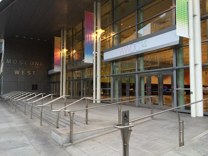 WWDC 2014 moscone center