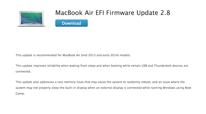 MBA EFI Firmware Update 2.8