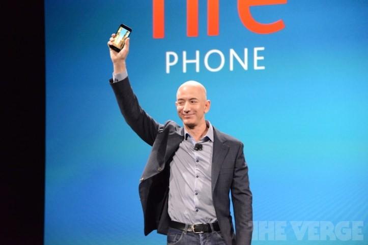 Amazon初のスマホ「Fire Phone」を正式に発表