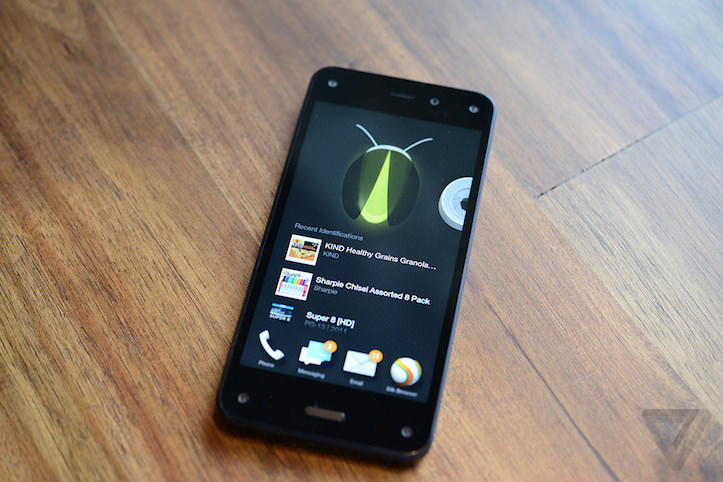 Amazon fire phone hands on