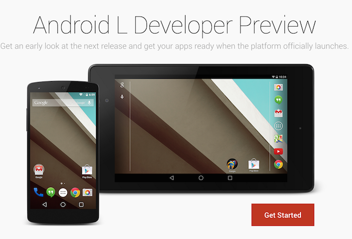 Android L available