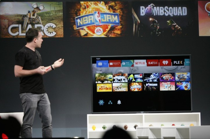 Android tv officially announced