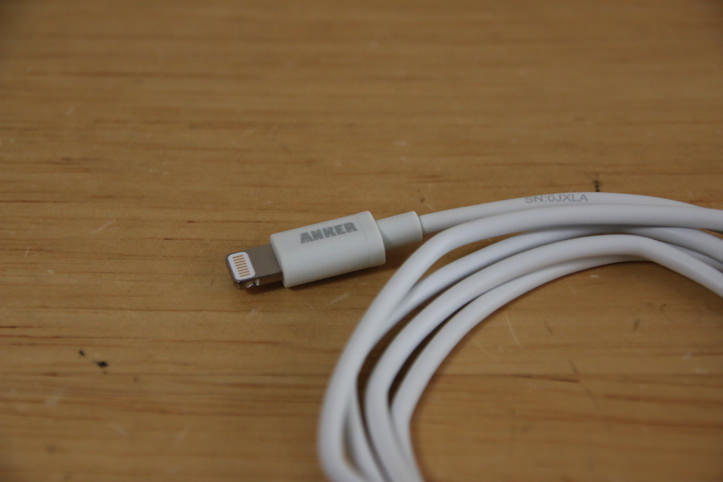 Anker lightning cable