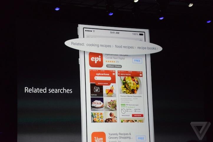 App store change ios8