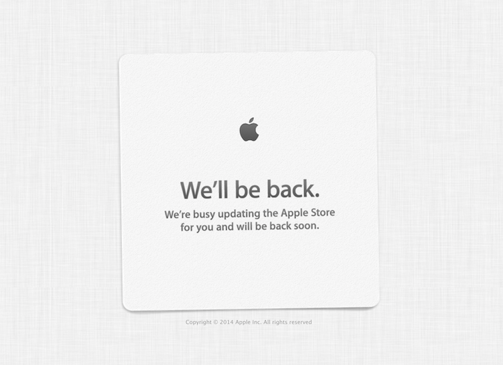 Apple store wellbe back