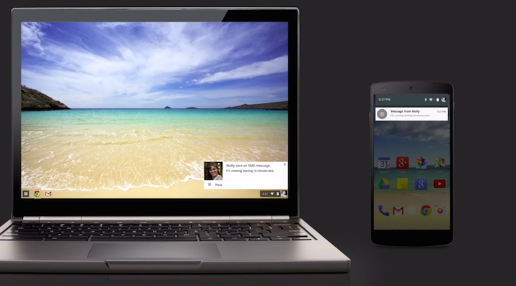 Chromebook and android unifying