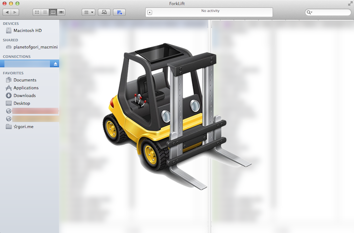 Forklift for mac