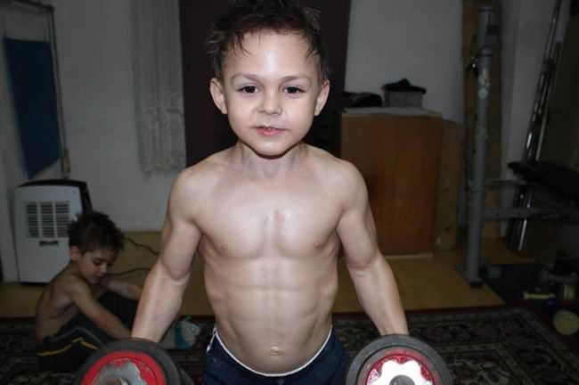 Giuliano stroe brother claudiu have been working out rigorously