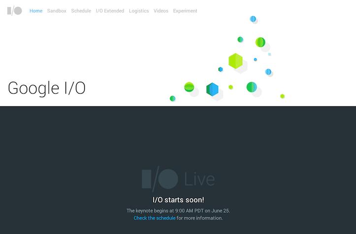 Google IO 2014 Keynote