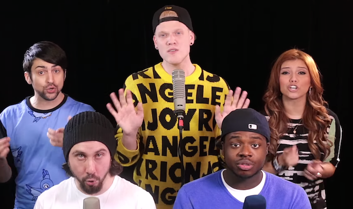 Happy pentatonix