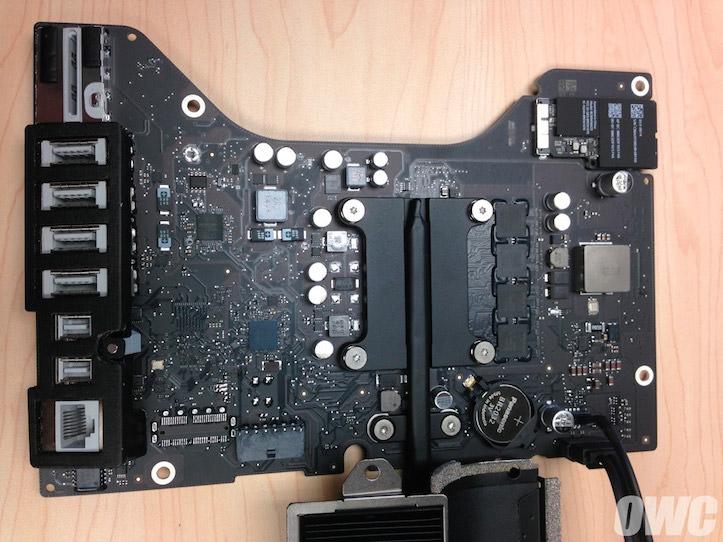 iMac Mid 2014マザーボード