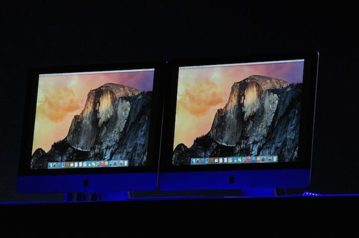 iMac with OS X 10.10