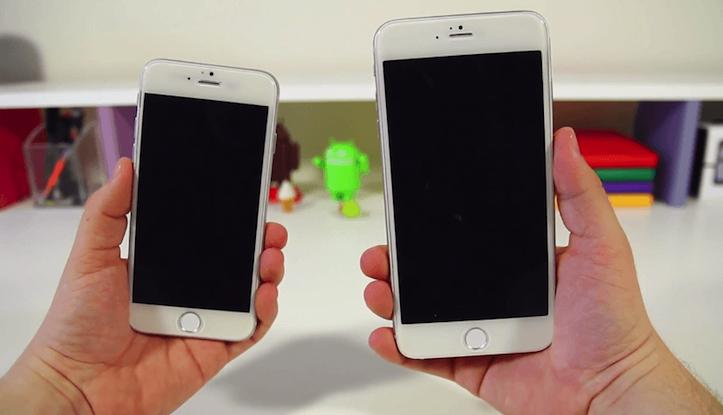 「iPhone 6」4.7インチ 5.5インチ