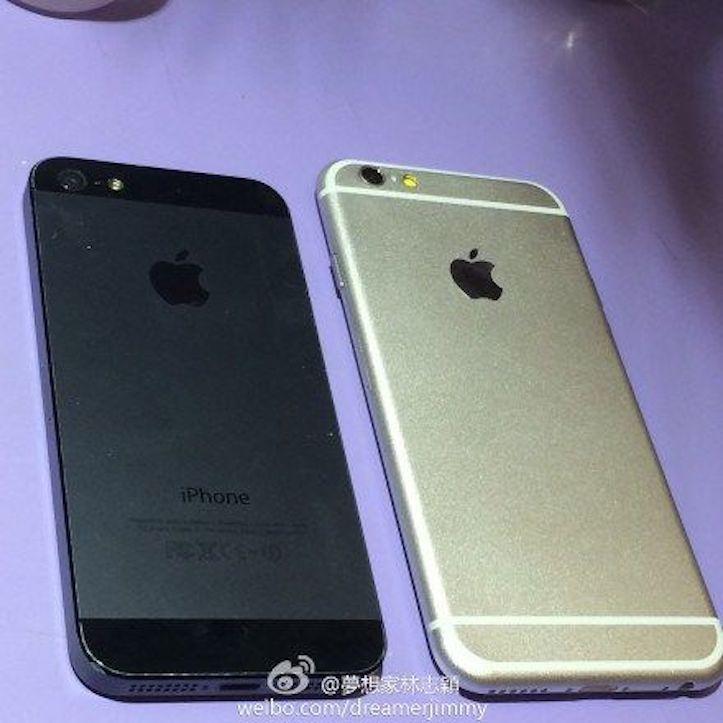 iPhone 6のリーク写真