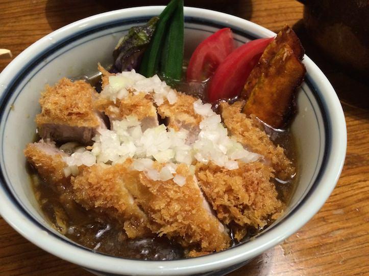かつ吉 渋谷店 「冷やしカレーカツ丼」
