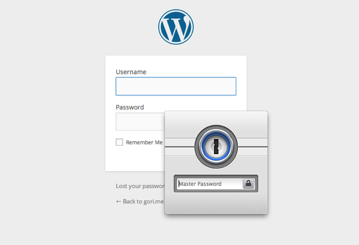 Login using 1password