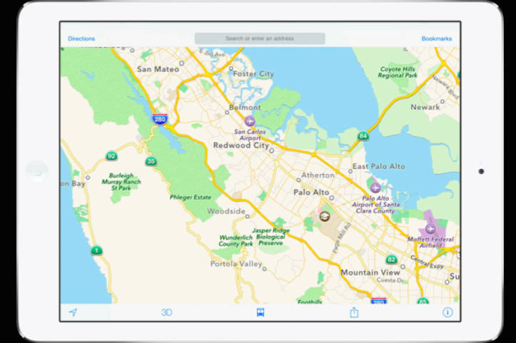 Maps transmit