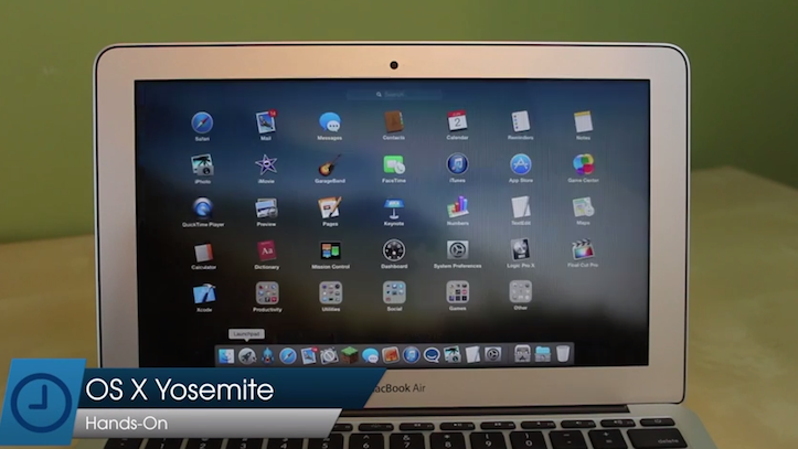 OS X Yosemite Hands-on