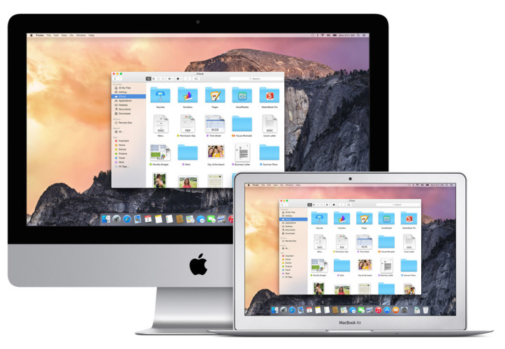 Os x yosemite imac macbookair