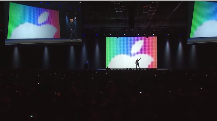 Tim cook and moscone center
