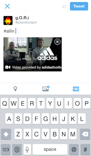 Twitter ad videos