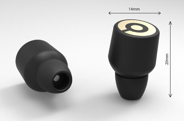 Worlds smallest wireless earbuds earin