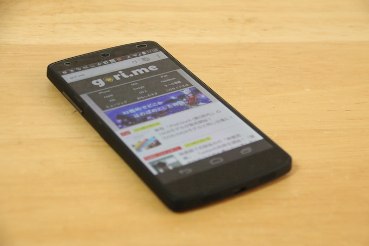 Nexus 5用ULTRA FINE GLASSのレビュー