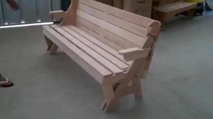 Amazing Bench