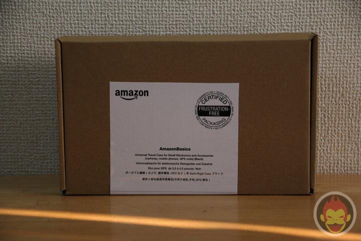 Amazonベーシックの「ポータブル機器用キャリングケース」