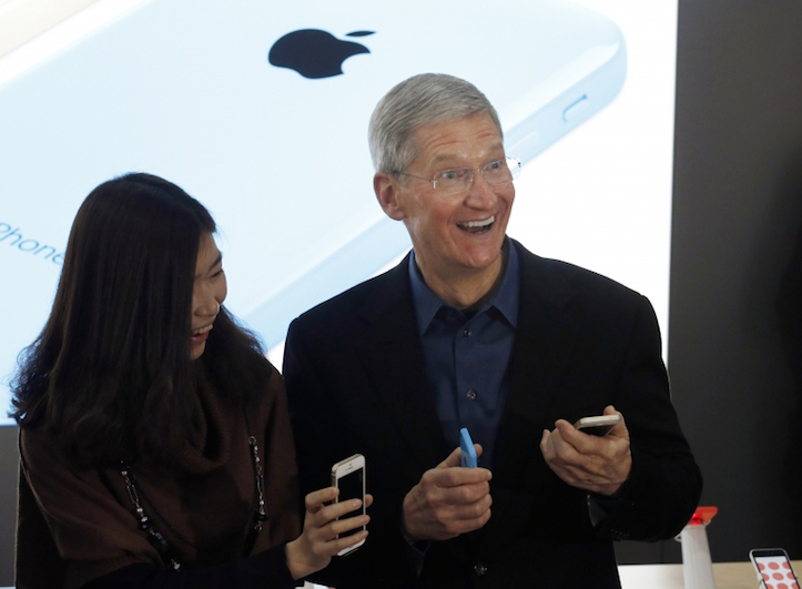 Apple tim cook china mobile