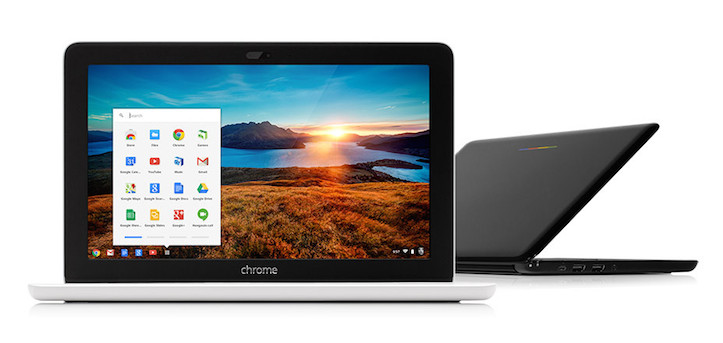 Black white chromebook