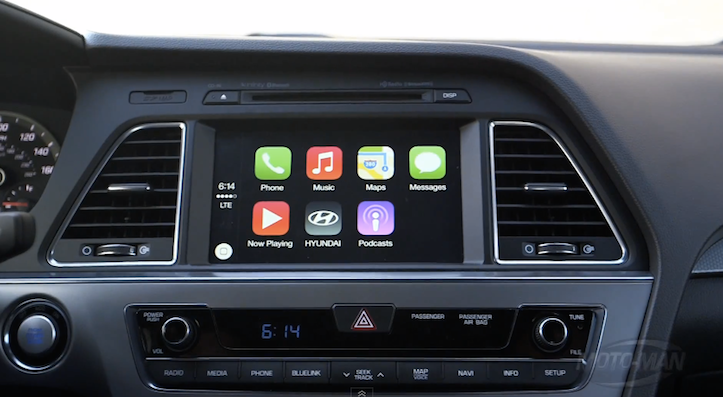 Carplay in hyundai sonata