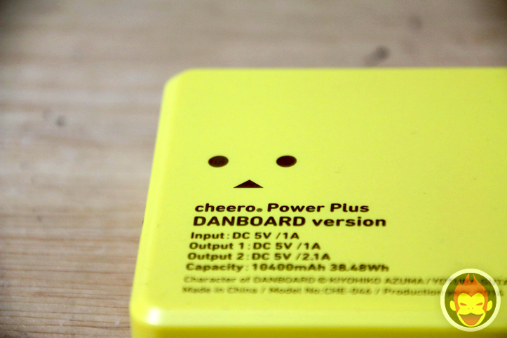 Cheero Power Plus 10400mAh DANBOARD Version FLAVORS