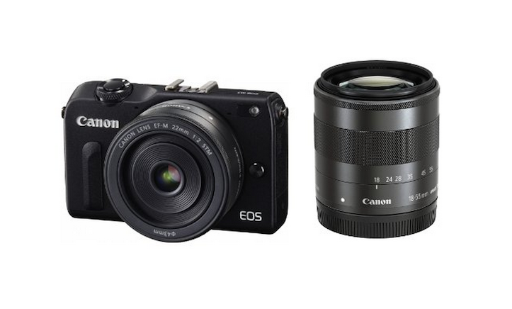 Canon EOS M2 ミラーレス一眼カメラ