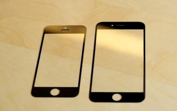 iPhone 6のフロントパネル