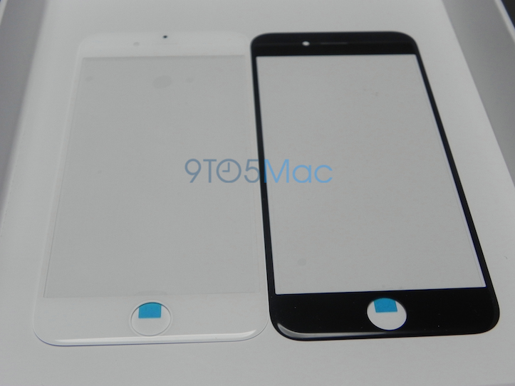 iPhone 6のフロントパネル(ホワイト・ブラック)の写真がリーク