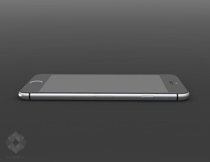 iPhone 6のモックアップ画像