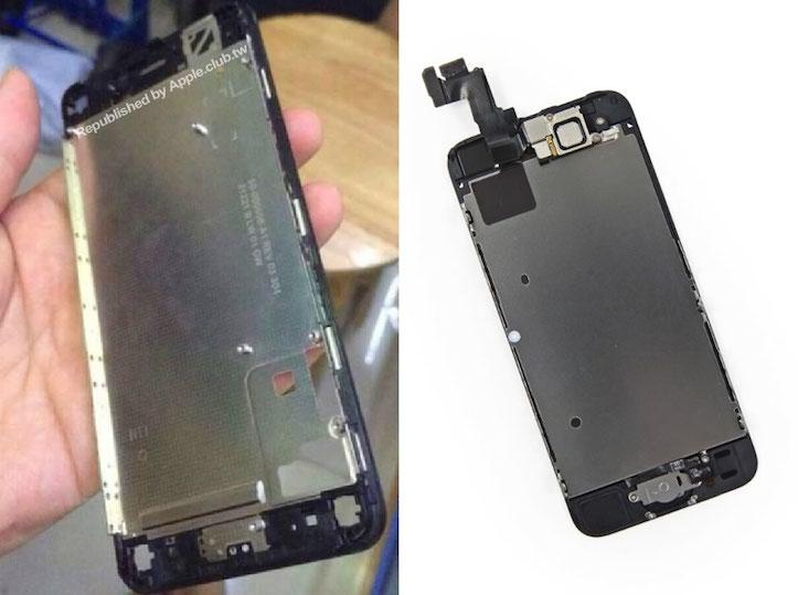 iPhone 6とiPhone 5sのブラケット比較