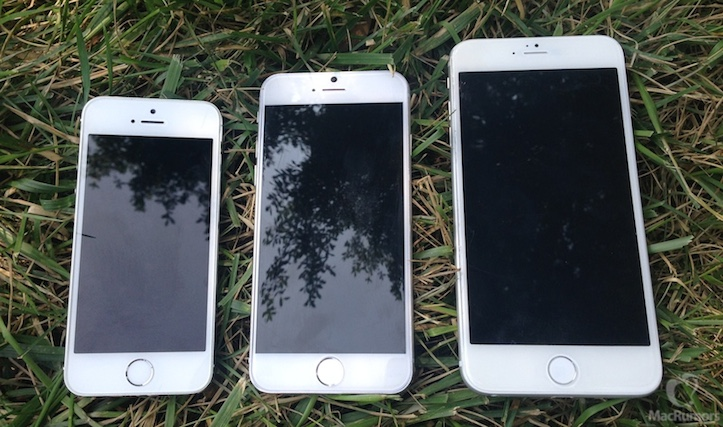 iPhone 5s、6、Air