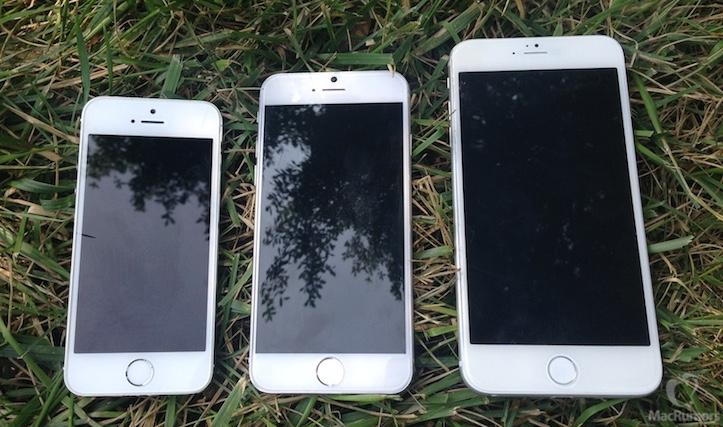 iPhone 5s、6、Air
