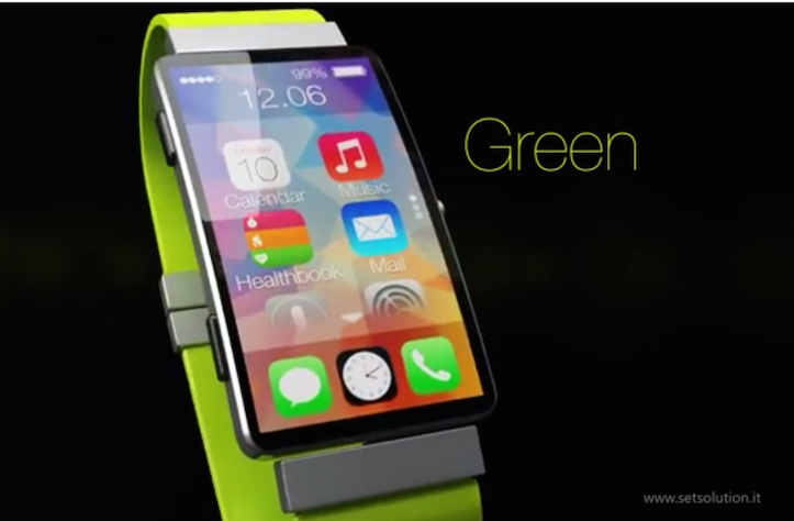 iWatch in multiple colors