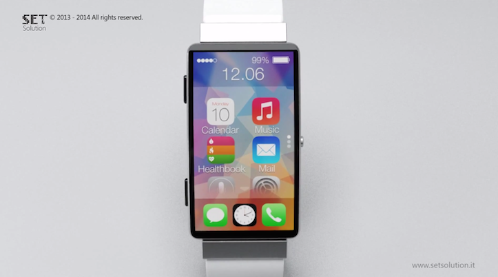iWatch コンセプトイメージ