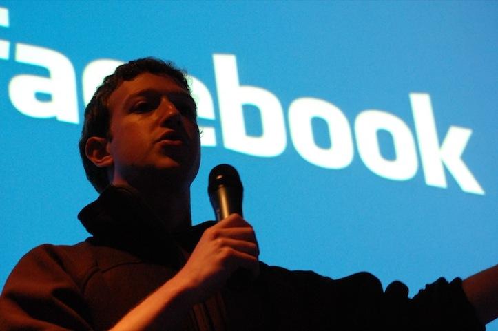Mark zuckerberg why fb is blue