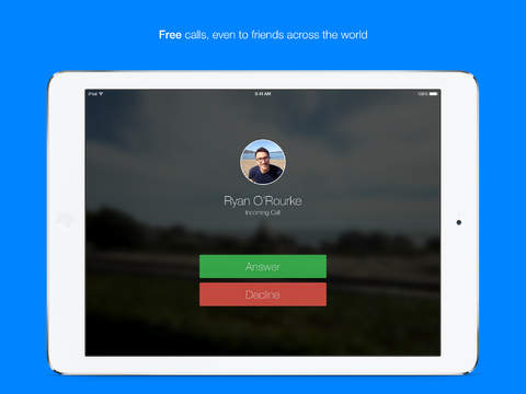 Messenger for iPad